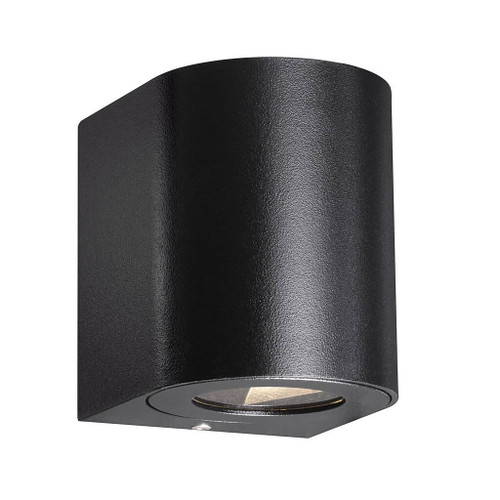Canto Black Minimalist Up and Down LED Wall Light