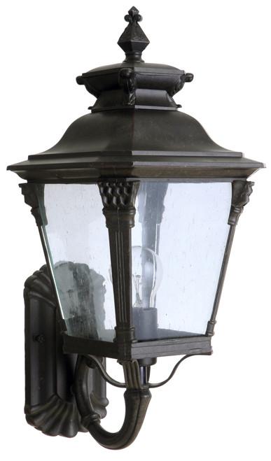 Transit Antique Bronze Medium Lantern Wall Light