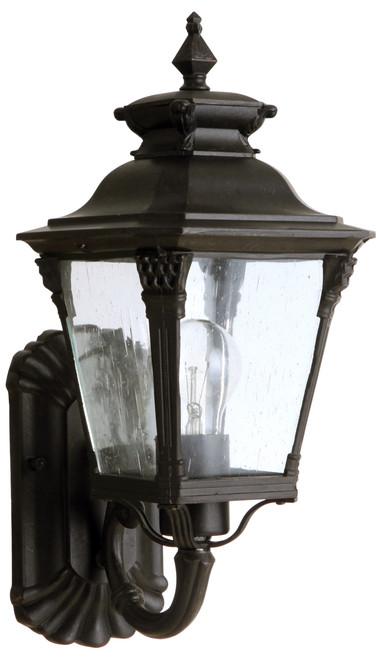 Transit Antique Bronze Small Lantern Wall Light