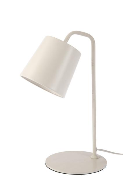 Costa Pure White Table and Desk Lamp