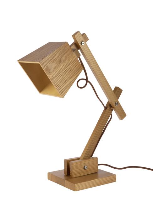 Elsinki Adjustable Avant-Garde Wooden Table and Desk Lamp