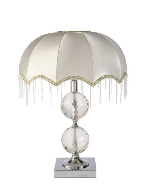 Mina Luxury Umbrella Square Crystal Table Lamp