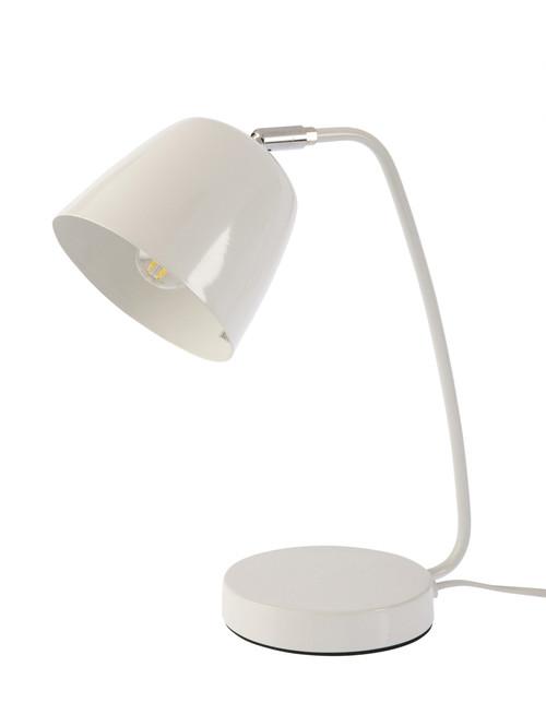 Ronda White Table and Desk Light