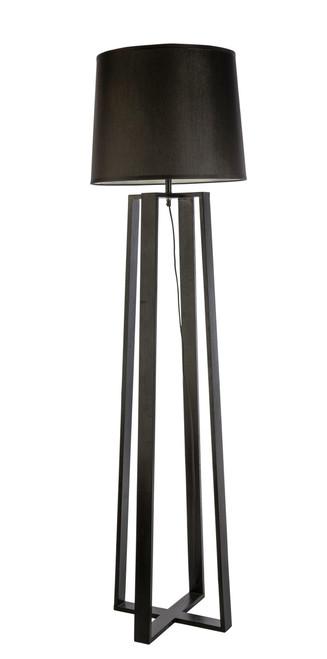 Sweden Bare Black Scandinavian Floor Lamp