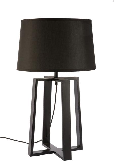 Sweden Bare Black Scandinavian Table Lamp