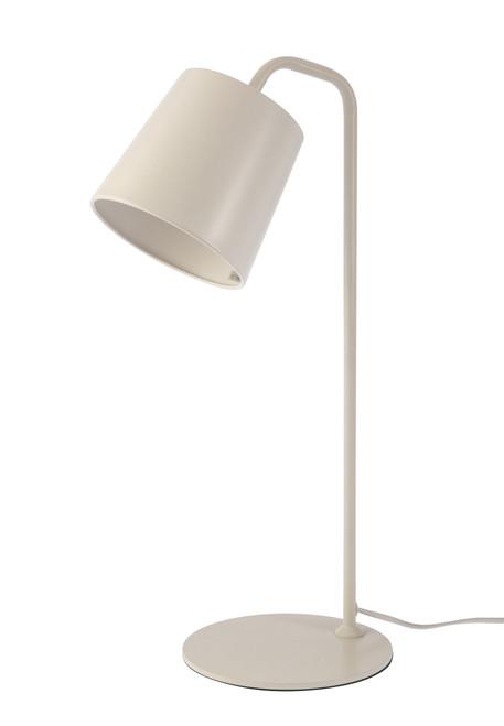 Taco White Minimalist Table and Desk Lamp