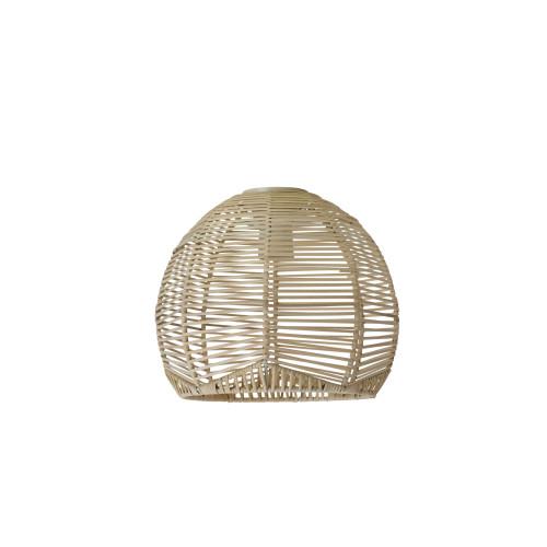 Cage Small Natural Rattan Cane Pendant Shade
