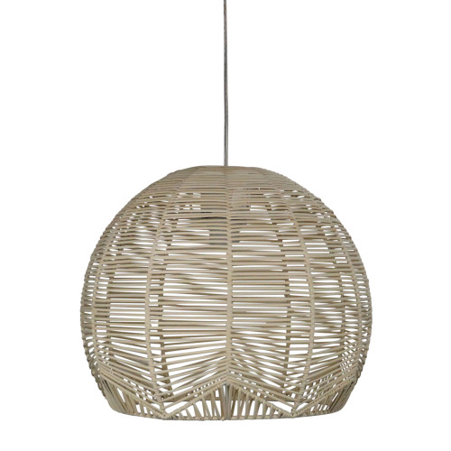 Cage Large Natural Rattan Cane Pendant Shade