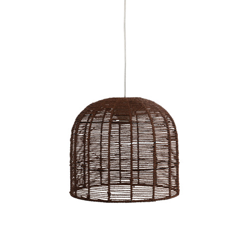 Pope Hand-Woven Natural Pendant Shade