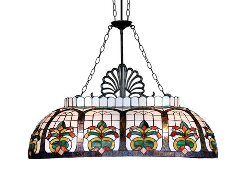 Floral Billiards Pendant Lamp