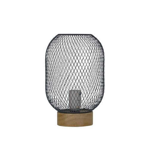 Thread Grey Mesh Table Lamp