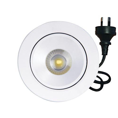 Millenia 30 Degrees Tilt-Adjustable LED Recessed Downlight