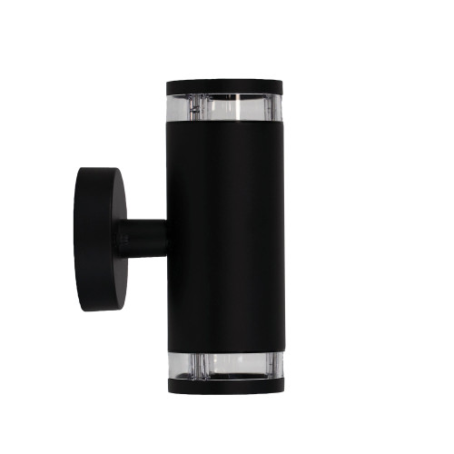 Dove Cylindrical Up and Down Outdoor Wall Light