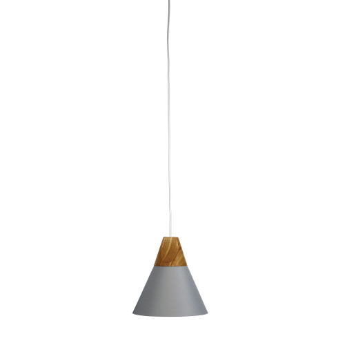 Terra Grey Conical Pendant Light