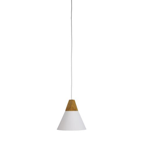 Terra White Conical Pendant Light