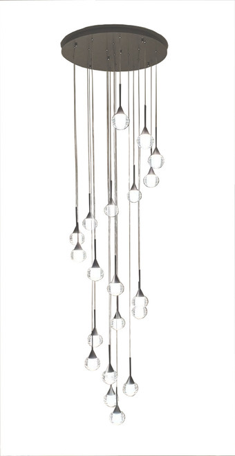 Toffee 20 Lights Cluster Pendant