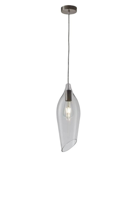 Lily Clear Glass Pendant Light