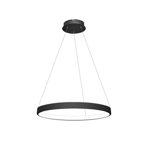 Ring Black Inner Light Pendant