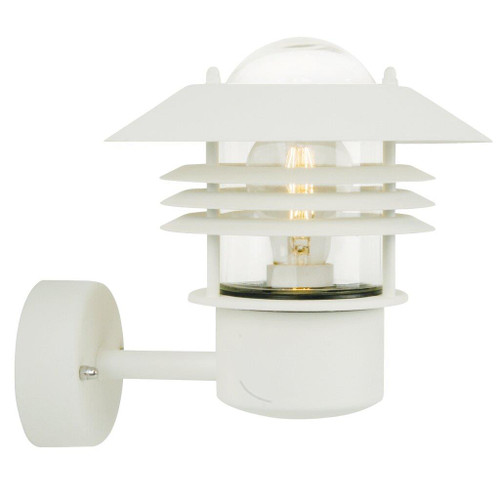 Vejers Classic White Outdoor Wall Light