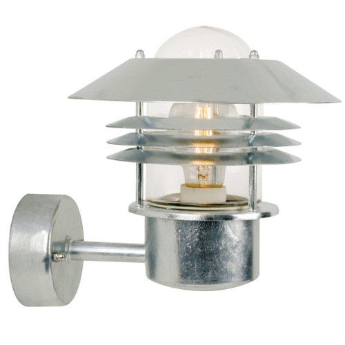Vejers Galvanized Steel Outdoor Wall Light