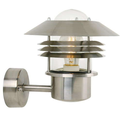Vejers Stainless Steel Outdoor Wall Light