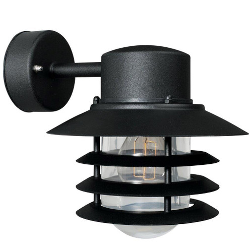 Vejers Down Classic Black Outdoor Wall Light
