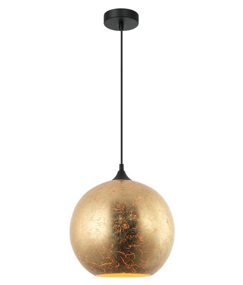 Vulcan Matt Gold Morrocan Glass Pendant