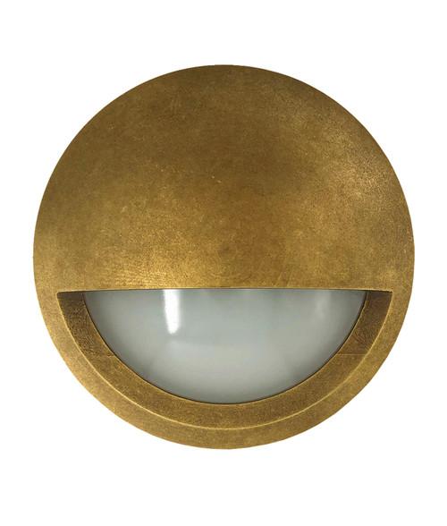 Edelstein Eyelid DC Exterior Brass Step Light