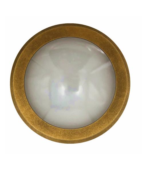 Edelstein Round DC Exterior Brass Step Light