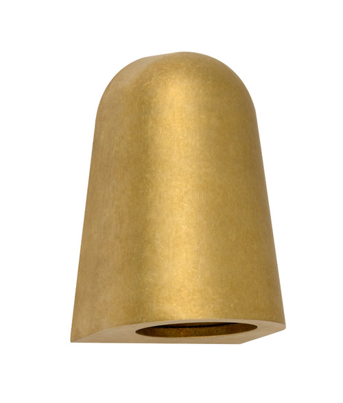 Chateau AC Antique Brass Conical Wall Lamp