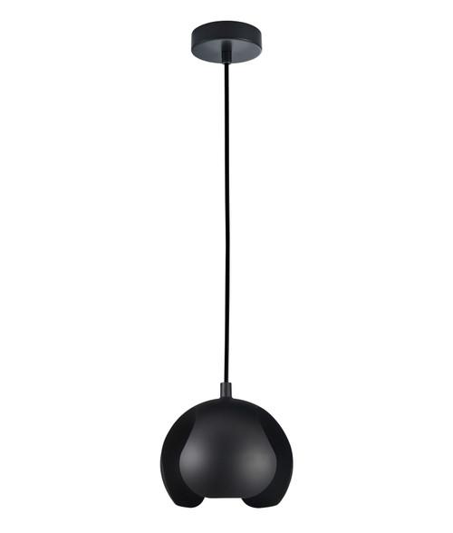 Virgo Black Iron Dome Pendant Light