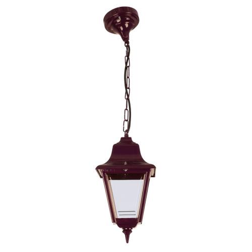 Paris Burgundy Lantern Pendant Light