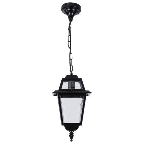 Avignon Black Aluminium Lantern Pendant