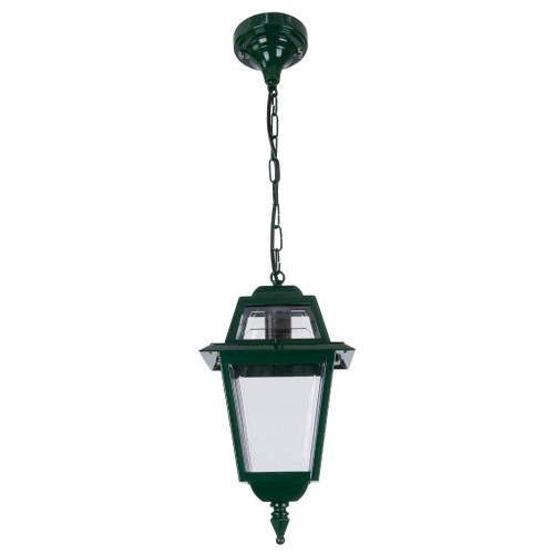 Avignon Green Aluminium Lantern Pendant