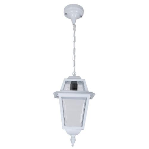 Avignon White Aluminium Lantern Pendant