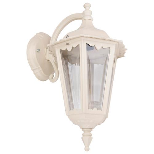 Chester Beige Lantern Downward Wall Light
