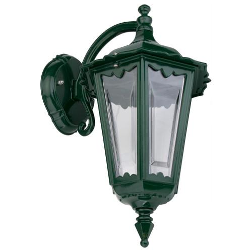 Chester Green Lantern Downward Wall Light