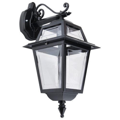 Avignon Black European Downward Wall Lamp