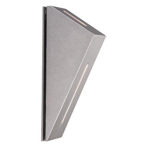 iBook 6W Silver LED Exterior Wall Light