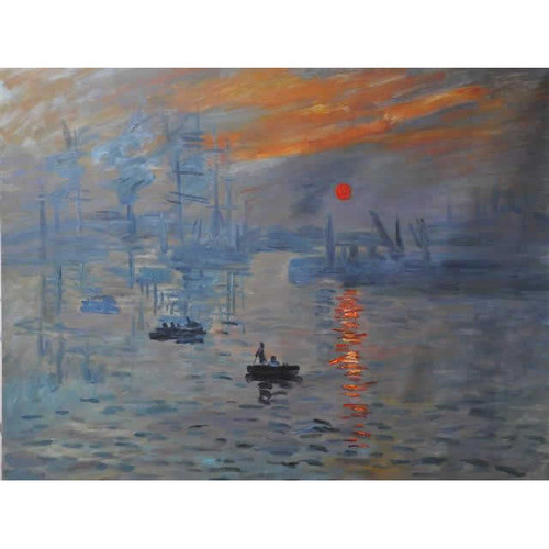 Impression Sunrise Reproduction Oil Painting
