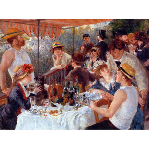 The Luncheon of the Boating Party by Renoir Reproduction Painting