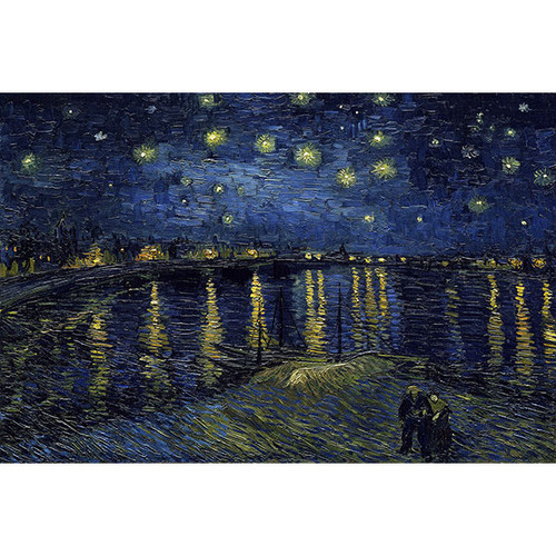 Starry Night over the Rhone by Van Gogh Reproduction Oil Painting
