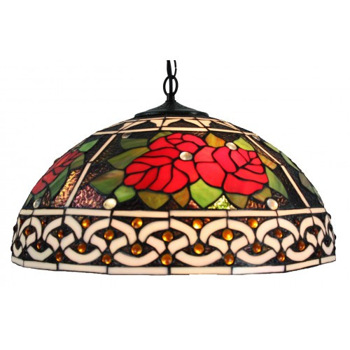 Rose Tiffany Pendant Lamp