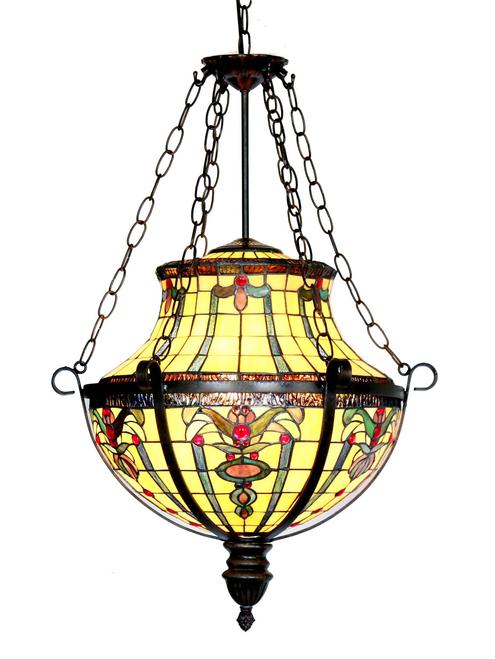 Victorian Floral Pendant Light