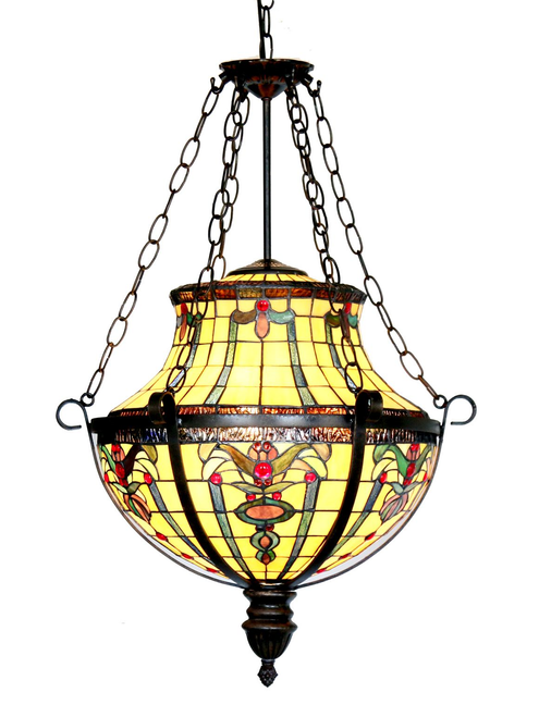 Victorian Floral Pendant Light