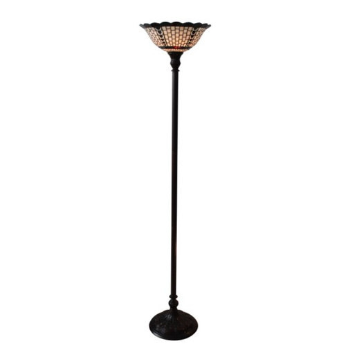 Geometric Filigree Uplight Floor Lamp