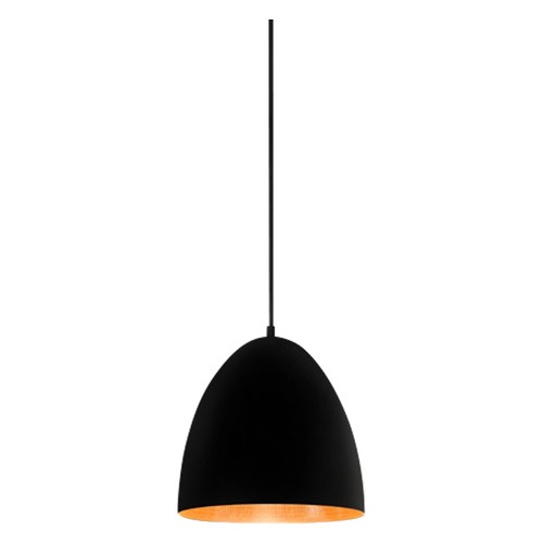 Egg Black Label Copper Pendant Light