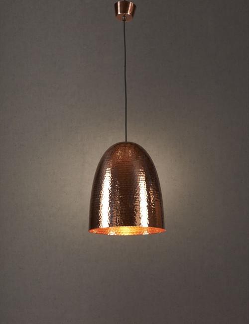 Dolce Beaten Copper Pendant Light