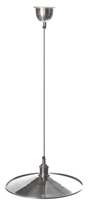New York Silver Hanging Disc Pendant Lamp