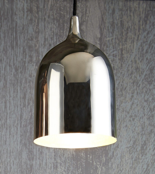 Lumi Silver Pendant Light